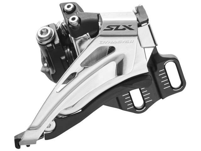 Shimano SLX FD-M7025 Forskifter Direct Mount dyb 2x11 Top Swing sort